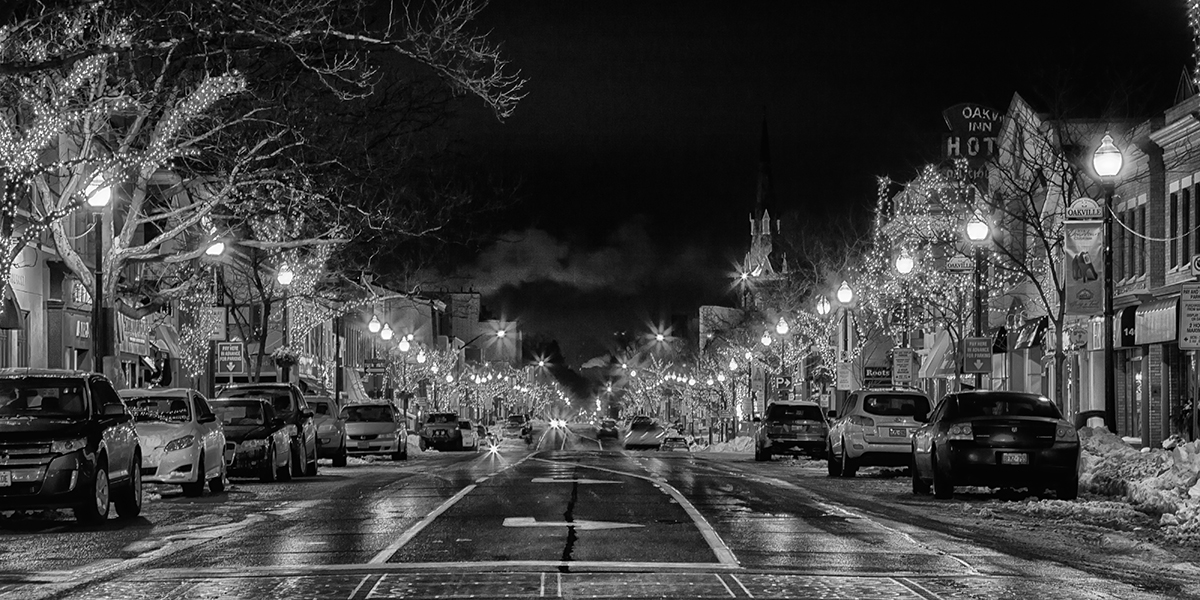 Oakville Christmas Lights